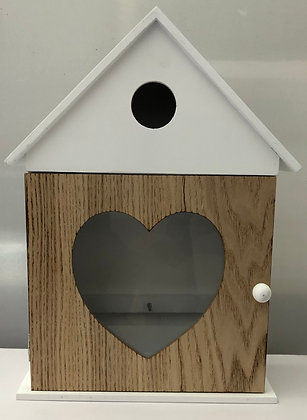 Key Holder House w Heart