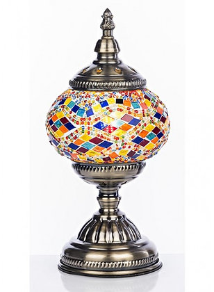 THE GRANGE COLLECTION MOSAIC TABLE LAMP