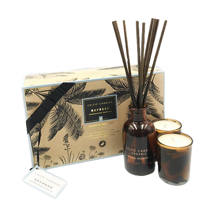 Celtic Candles Organic Gift Box (Refresh)
