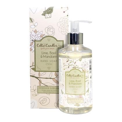 Lime, Basil & Mandarin Hand Soap