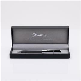 STRATTON BALL POINT PEN - GREY & SILVER PRODUCT CODE: ST2033