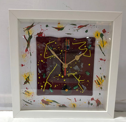 Wall Clock by Shards of Design