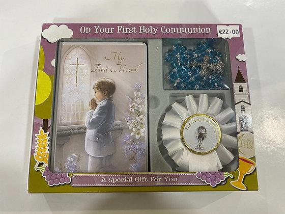 Boys Communion Set