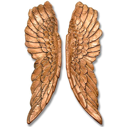 LARGE GOLD ANGEL WINGS 30 X 100cm