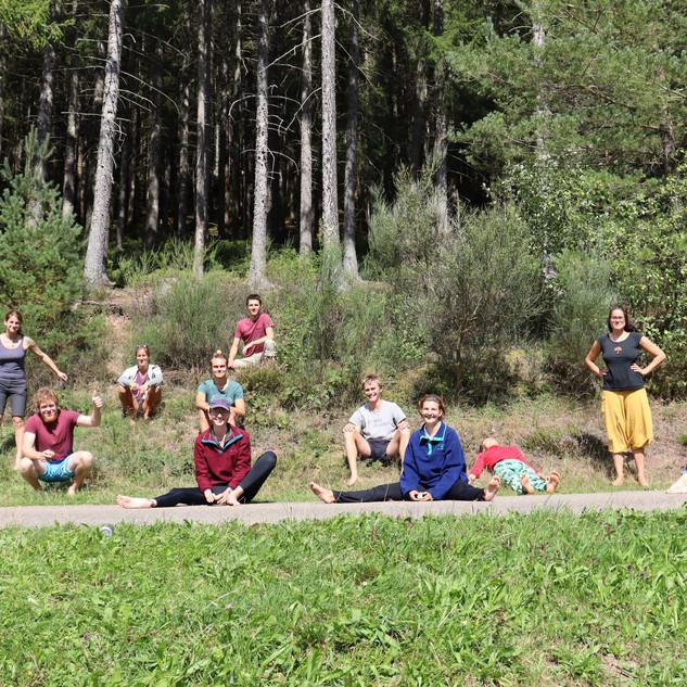 Gruppenbild Workcamp Stadt & Kommune
