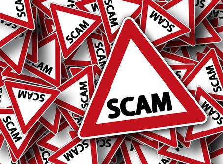 Beware New Scam