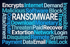 Ransomware word puzzle