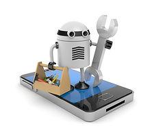 phone robot