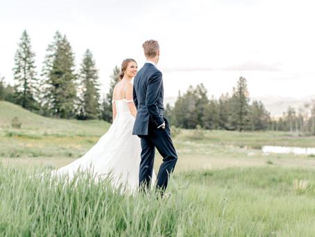 Colton & Kayla's Romantic Mountainside Wedding