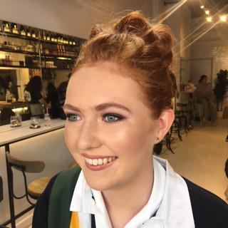 School Ball Makeup at Blow.JPG