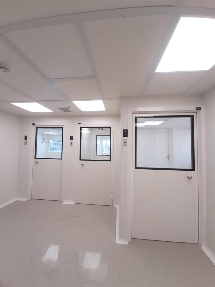 תכנון והקמת חדרים נקיים