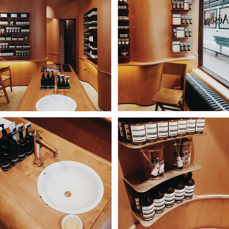 Design Crushes-Aesop, Stockholm