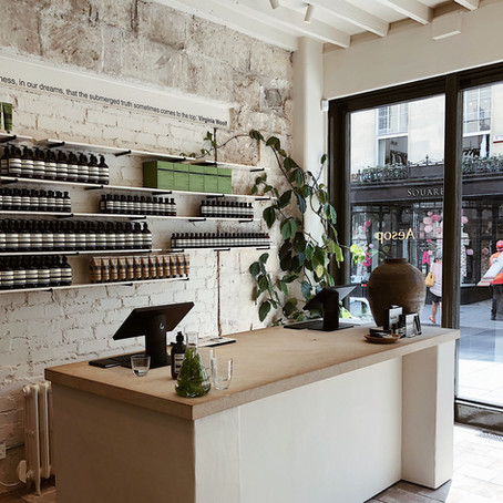 Design Crushes-Aesop Bath