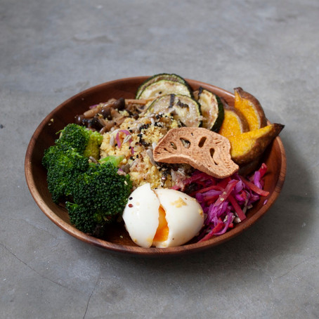 Healthy Sundays - Buddha  Bowl - 3 Ways