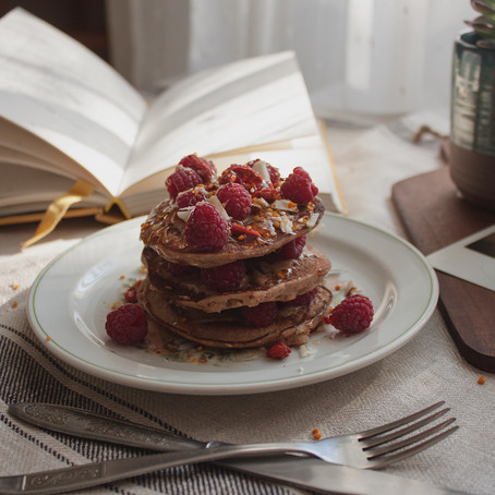 Healthy Sundays-Easy Peasy Gluten-Free Buckwheat Pancakes