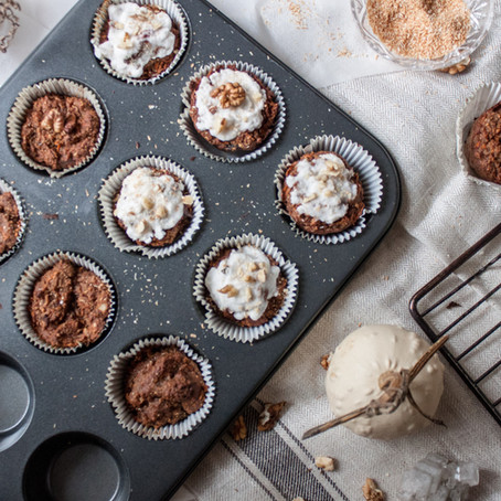 Healthy Sundays-Carrot Cake Gluten-Free Muffins