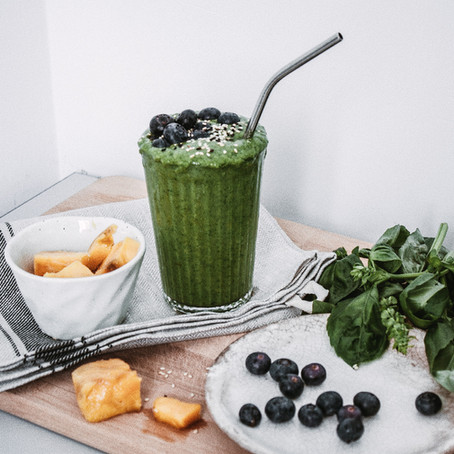 Healthy Sundays-Breakfast Smoothies 3 Ways