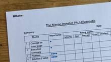 Assess your investor pitch with the Manao Investor Pitch Review