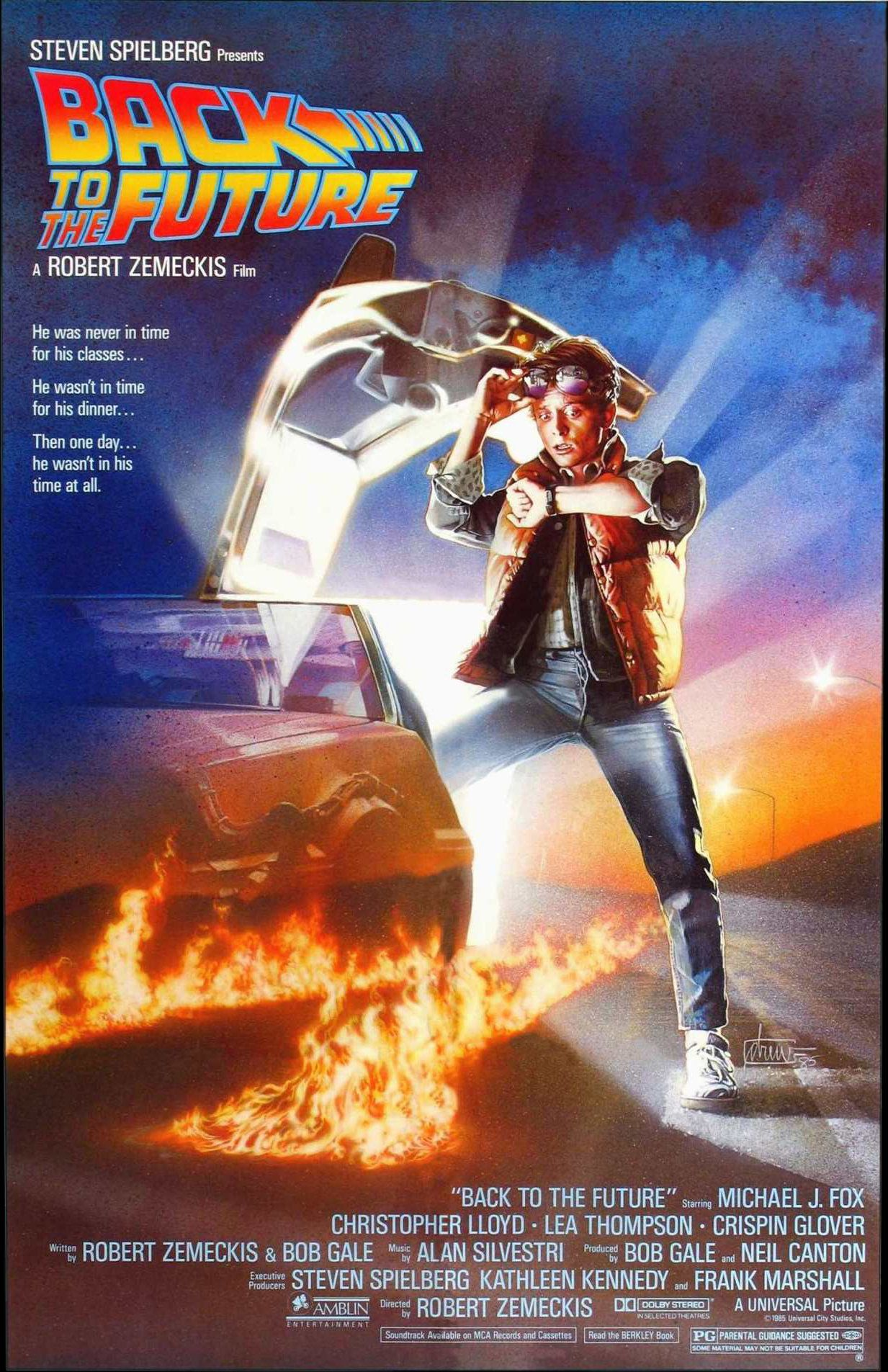 Back to the future (1985) by Robert Zemeckis - 1985