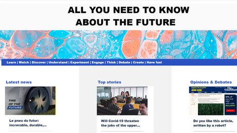 Check out our new blog and website about the future: www.futuria.io