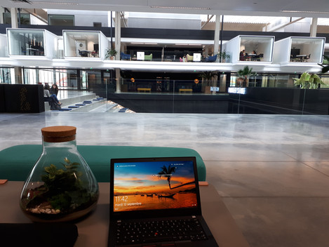 A day of work at Station F