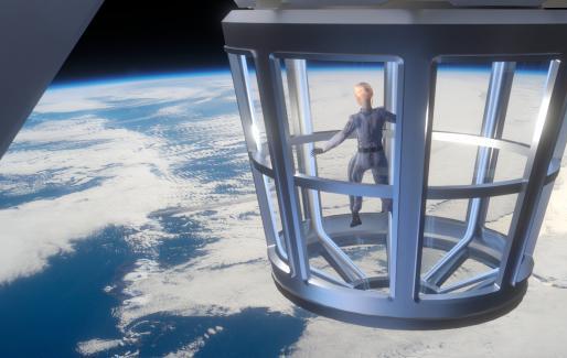 Le premier hôtel de l'espace?