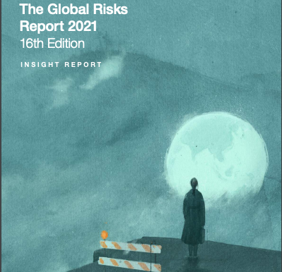 Global future risks, according to the World Economic Forum