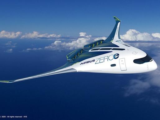Les enjeux de l'hydrogène pour les nouveaux avions d'Airbus prévus pour 2035