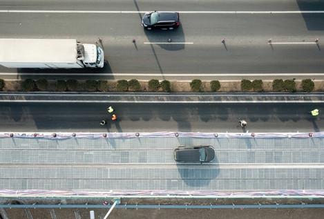 La première autoroute solaire est chinoise