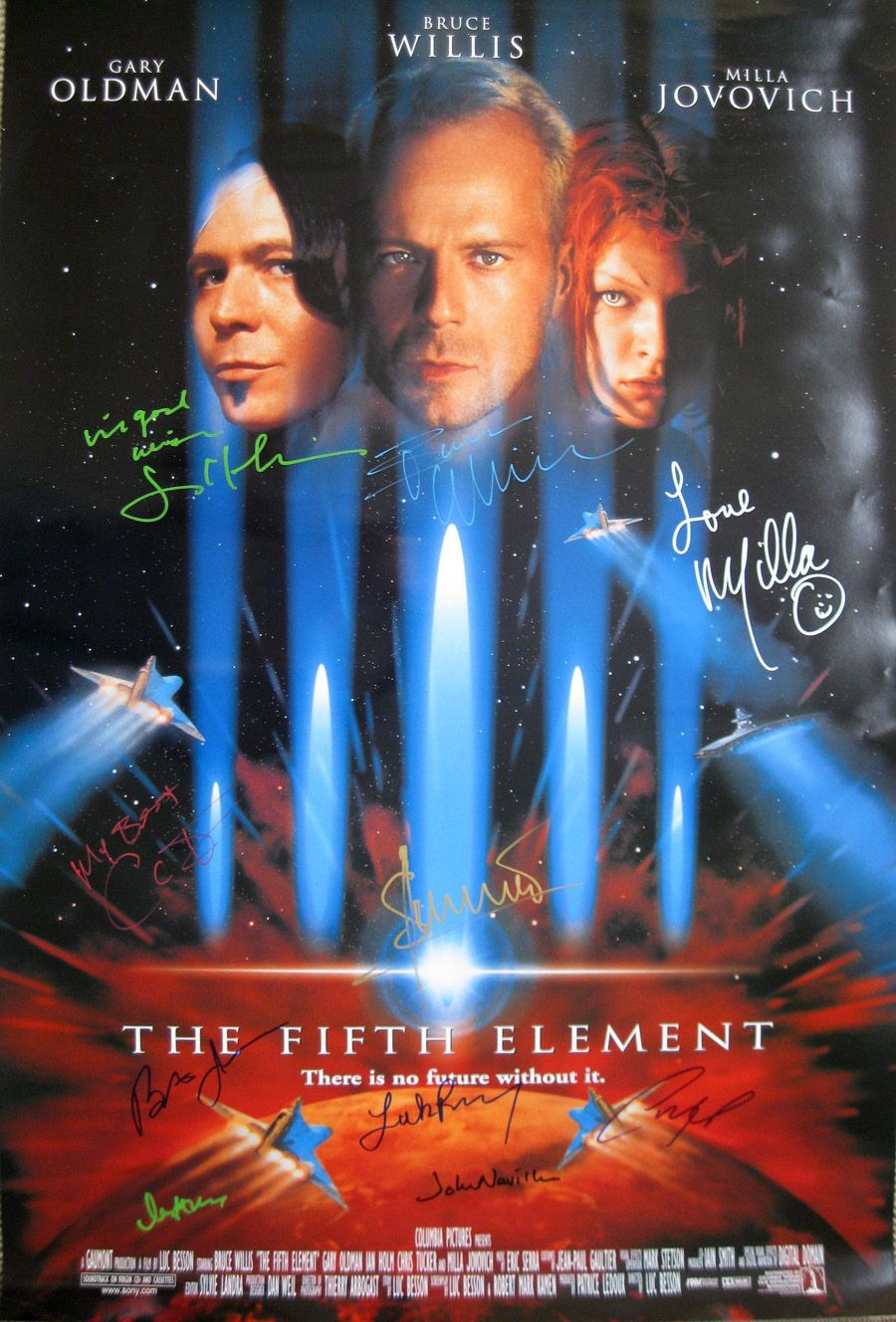The fifth element (1997) by Luc Besson - 1997