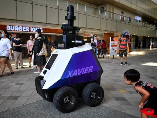 The Guardian: Singapore testing surveillance robots