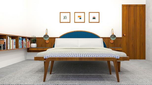 Copper Crest Guest Bedroom