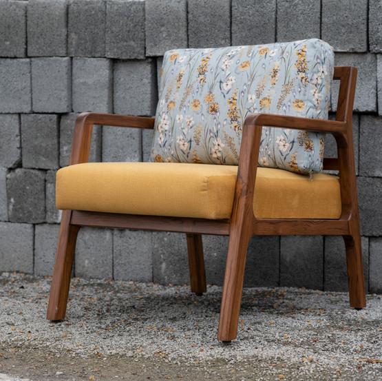 Megha Malhar Lounge Chair