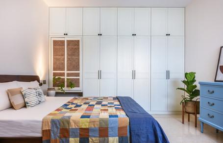 Prasanta Residence Master Bedroom