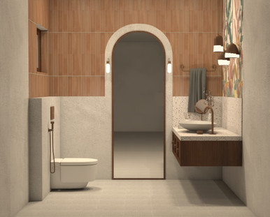 House of Arches Powder Room