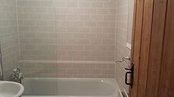 brick fashion tiling bathroom
