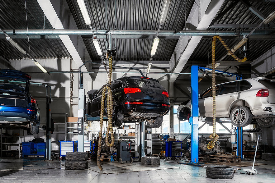 bigstock-Car-Repair-On-A-Lift-For-The-R-