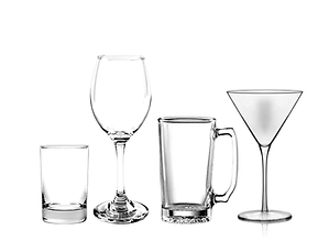 Glassware - Tableware- Bar Glasses- Dinn