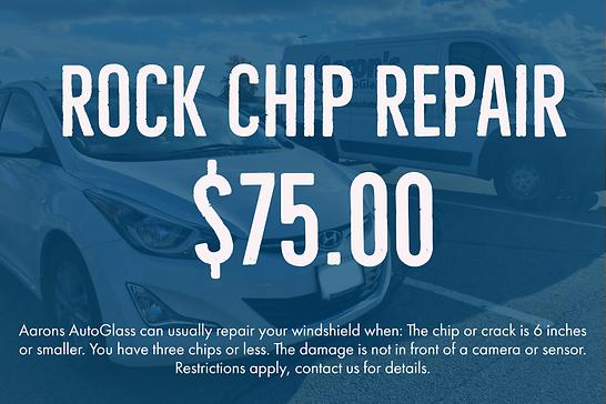 Rock Chip Repair | Aaron's AutoGlass, Fa