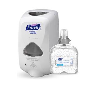 Purrell Hand Sanitizing Gel & Dispensers