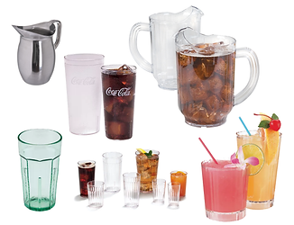 Tumbler Cups - Plastic and Stainless Ste