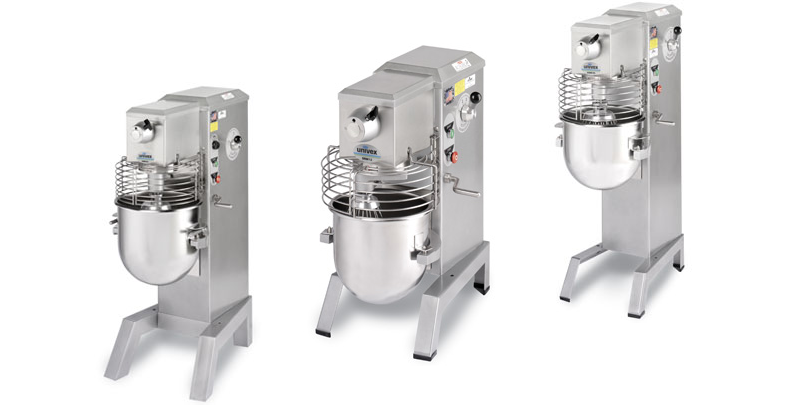Tips for selecting the right size Univex mixer.