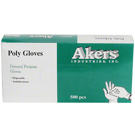 Akers Poly Gloves