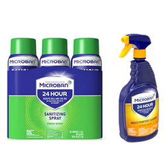Microban 24 Hour Sanitizing Spray