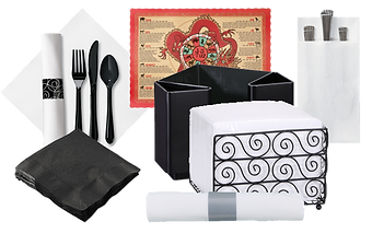 Commercial Paper Napkins, Napkin Baskets
