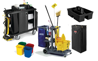 Commercial_Rubbermaid_Cleaning_Carts,_Ho