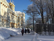 Winter in St. Petersburg: 2-tägige private Tour