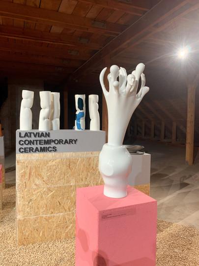 """LKA Izstāde """"Latvian contemporary ceramics"""" Klužā Rumānijā"""