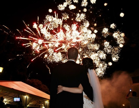 happy-hugging-bride-groom-watching-beaut