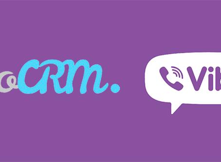 Отправляем в Viber из amoCRM первыми!